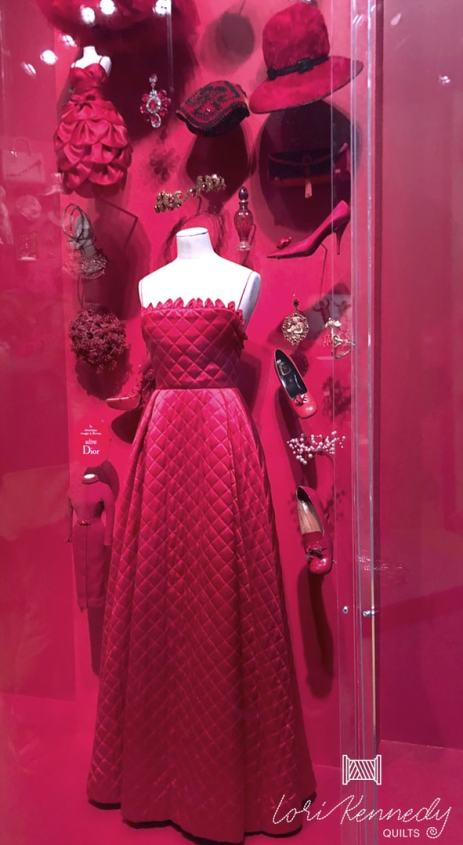 Quilted Dress,