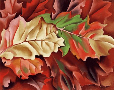 Georgia O'Keeffe Autumn Leaves