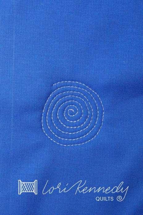 Stitch a spiral