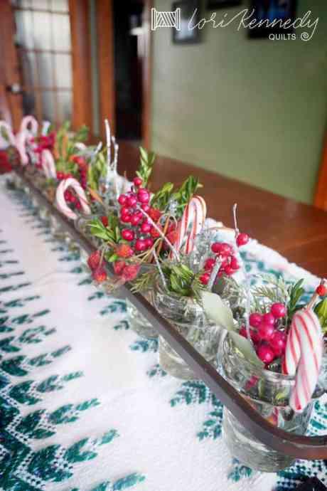 Creative Christmas Table decoration