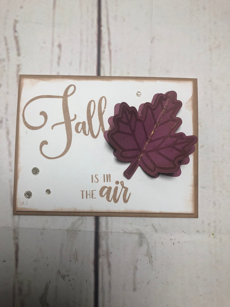 CTMH Fall Card
