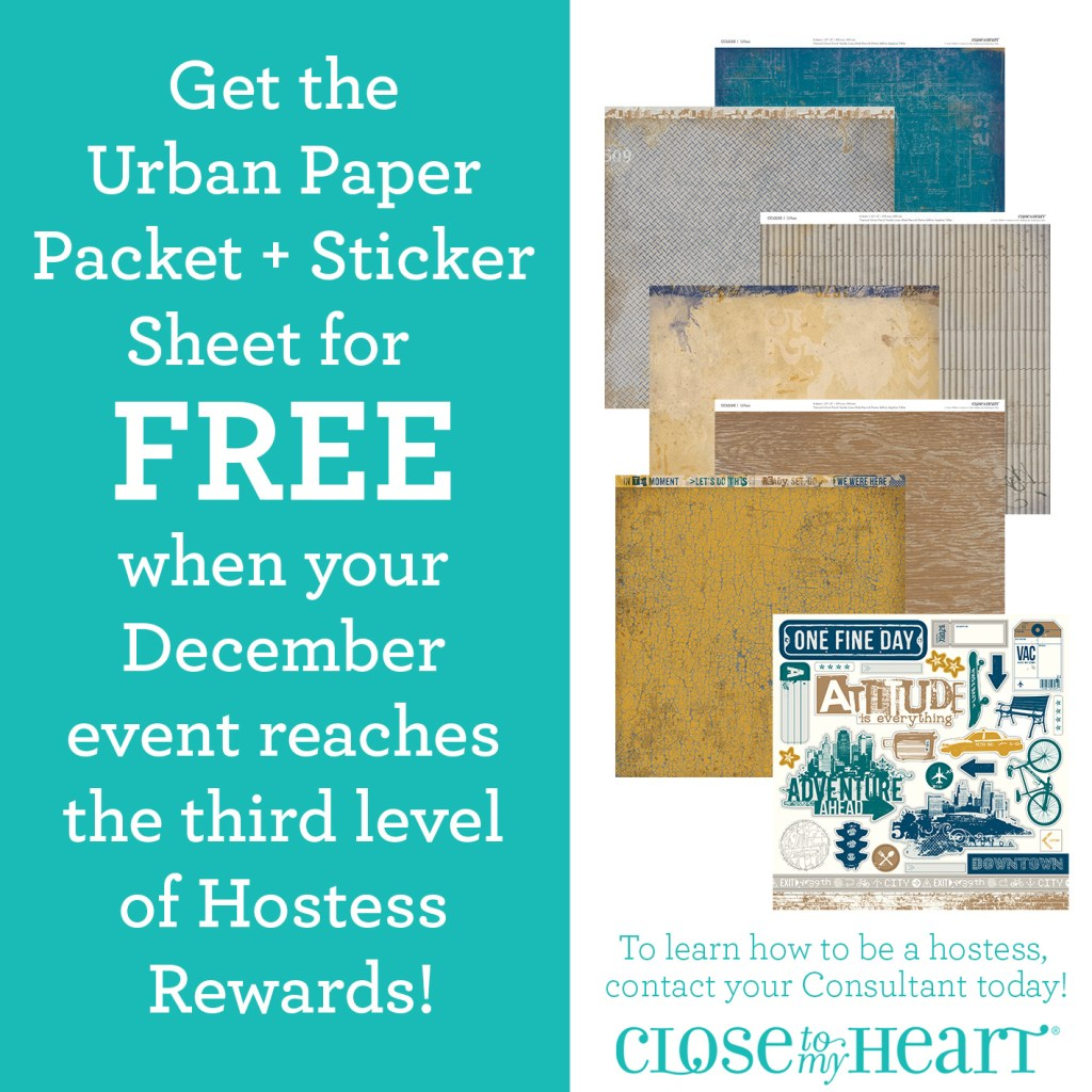 Free Urban Paper Pack for Hostesses