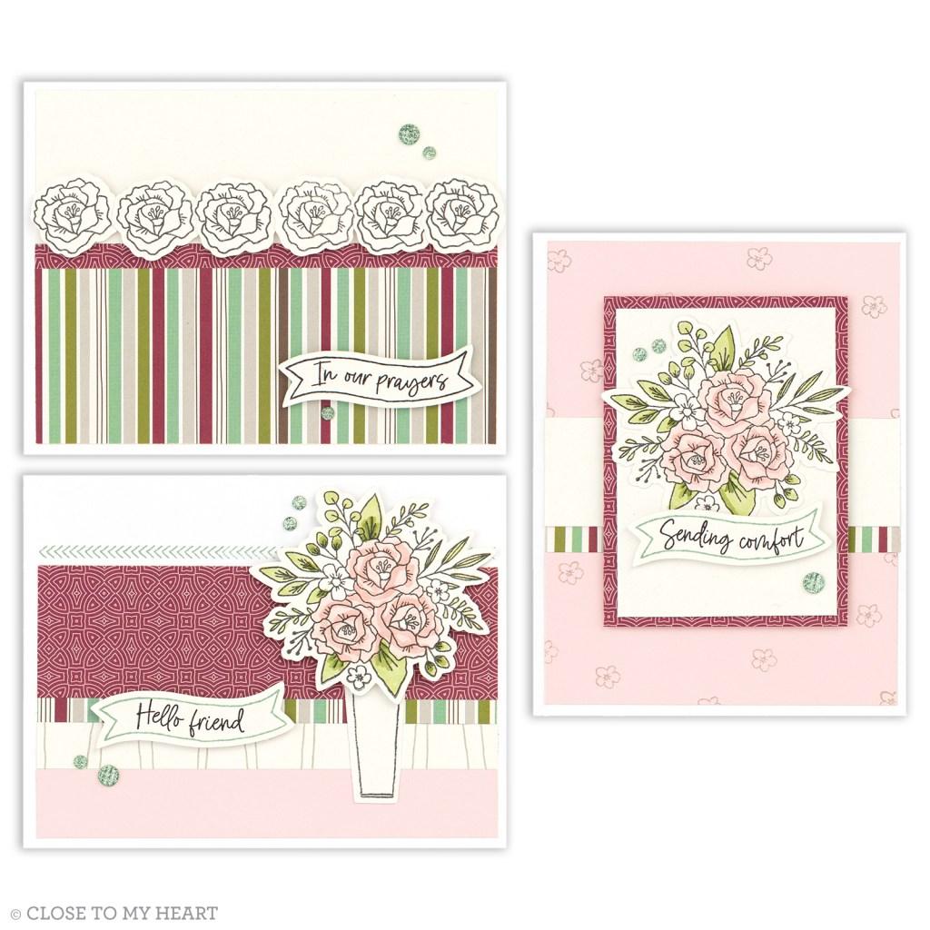 Cardmaking - Spruced Up