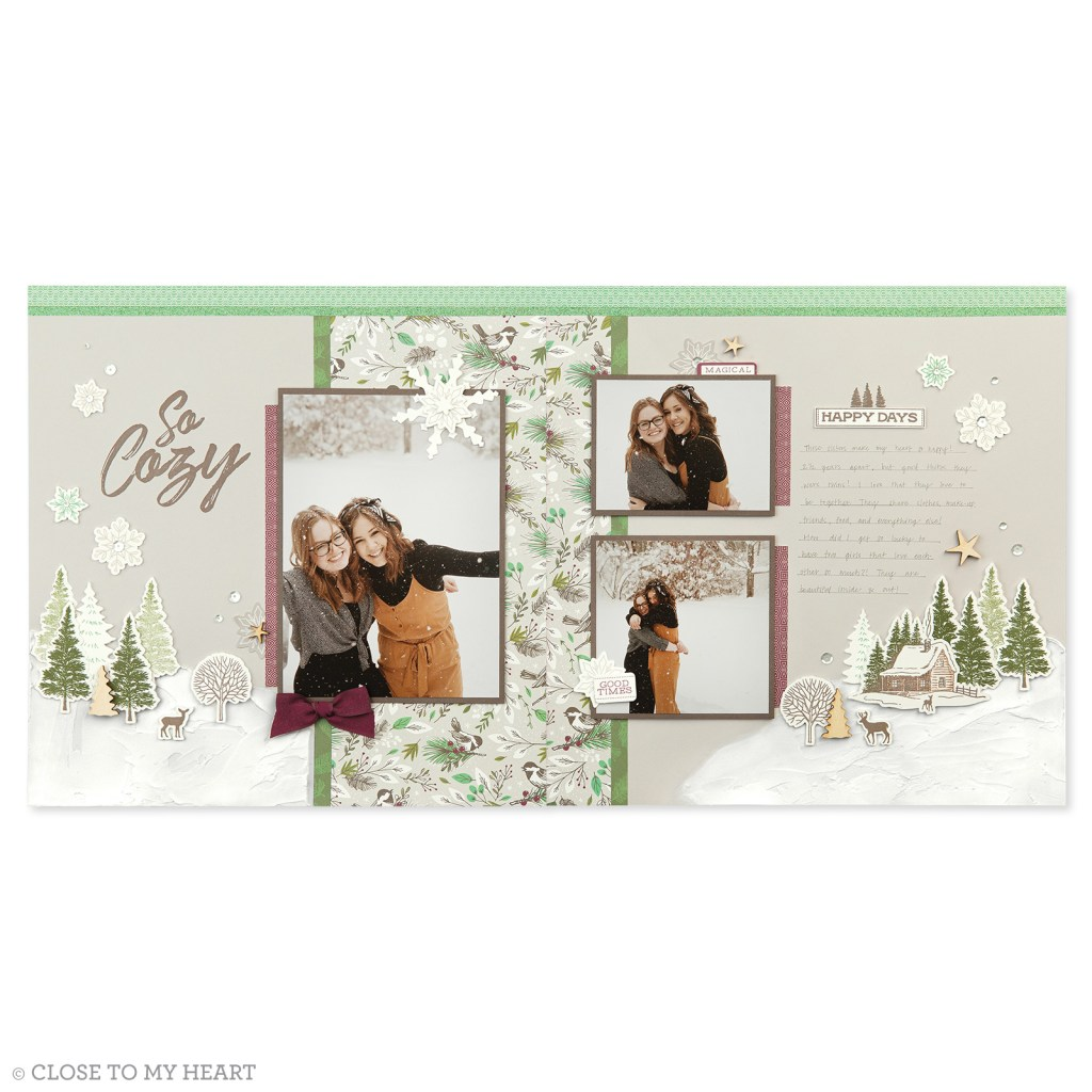 Scrapbooking - Spruced Up