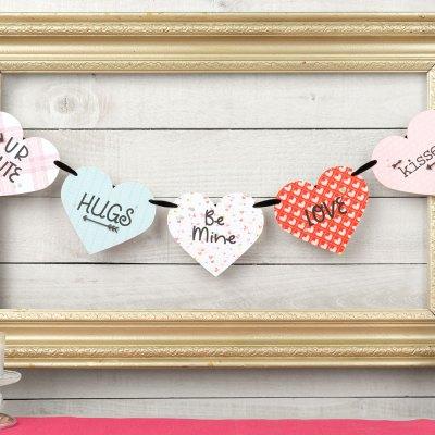 Be Mine Heart Banner