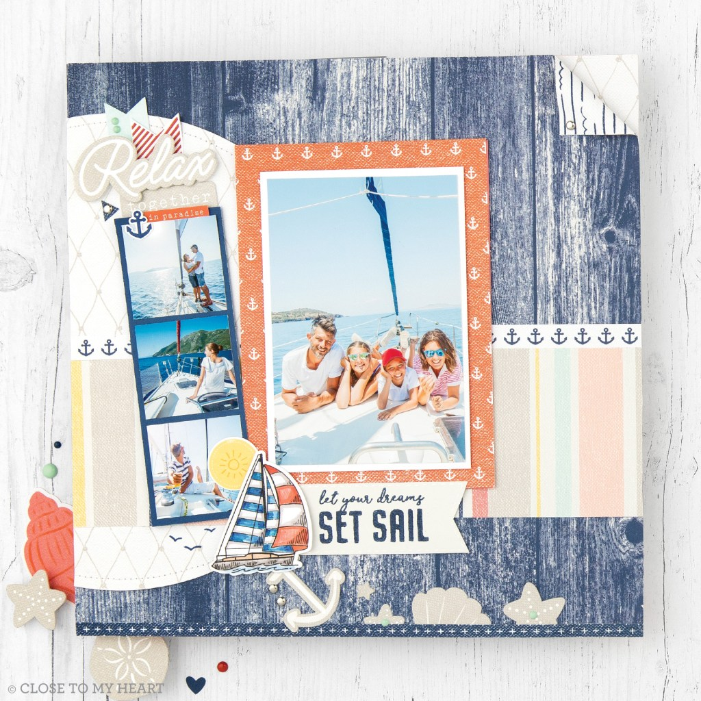 Seas the Day Layout