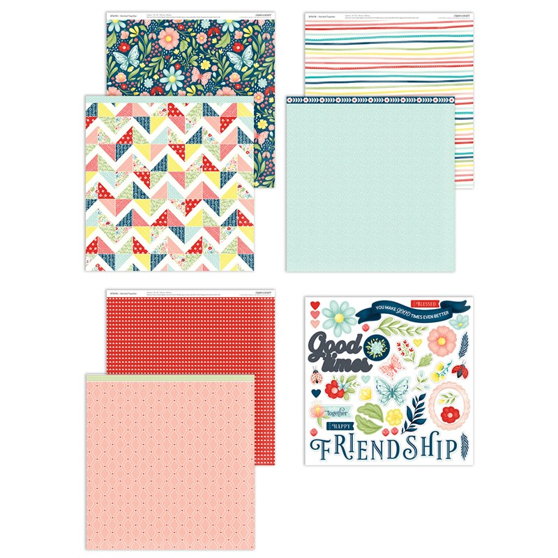 Stitched Together Paper Pack