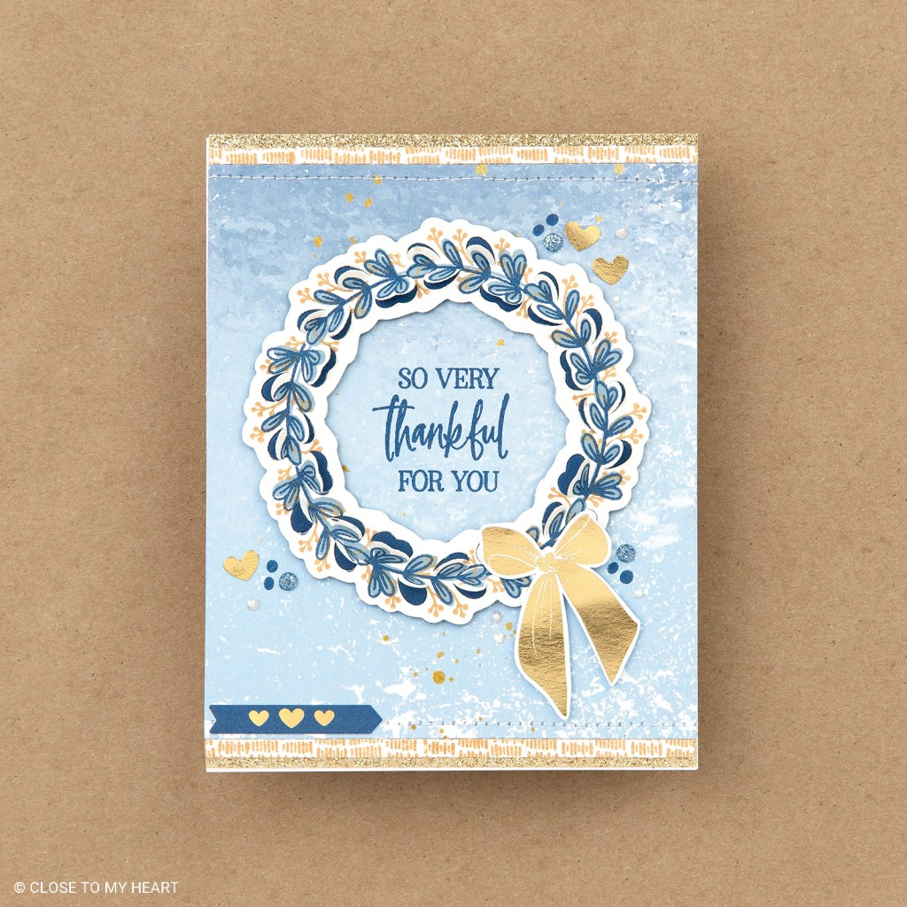 Cardmaking Stamp & Thin Cut - Serenity