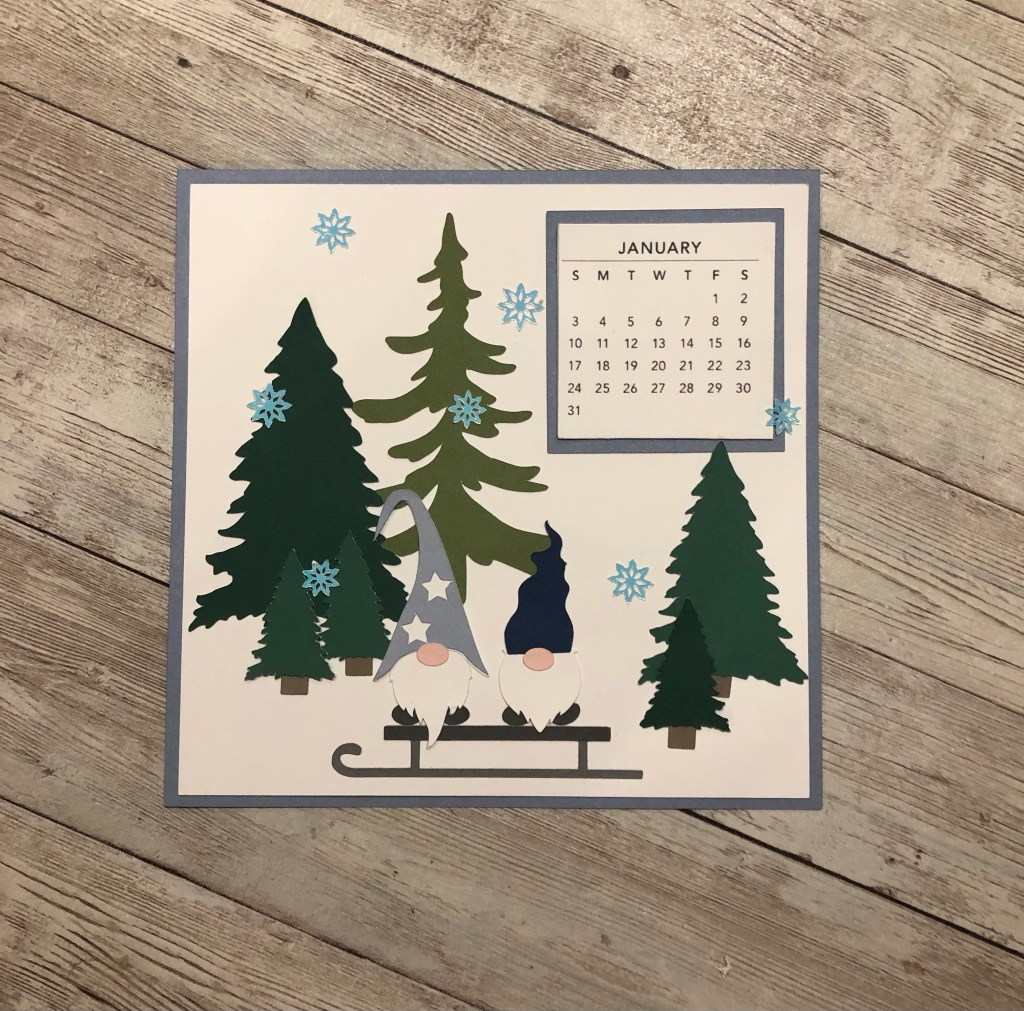 January Gnome Calendar