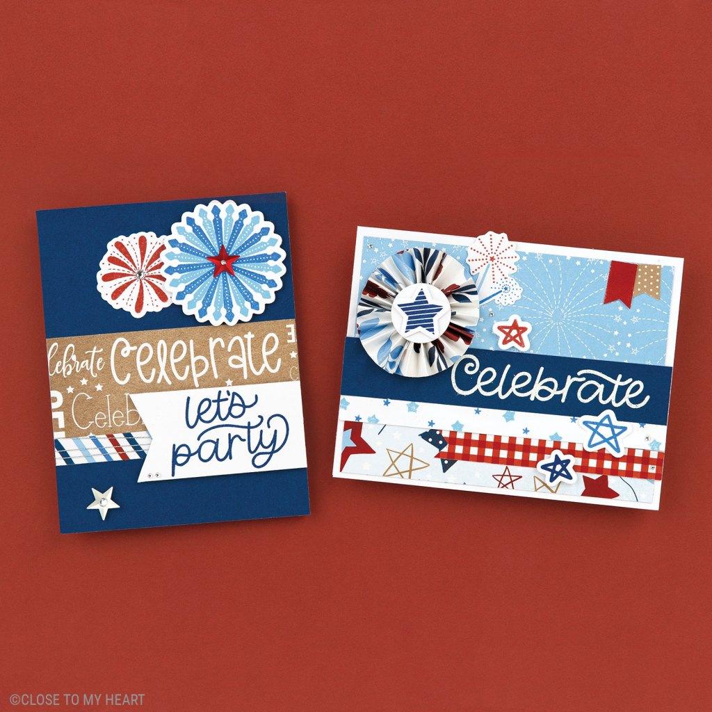Cardmaking Stamp & Thin Cut - Stars & Sparklers