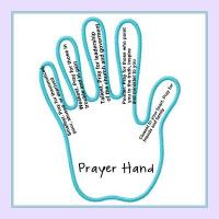 Prayer Journal.  we're starting small.  the prayer hand