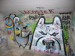 Grafitti at the Castle