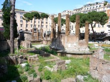 Ruins near the Pantheon