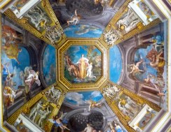 Ceiling in the Vatican - before the famous Sistine Chapel