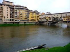 The Arno and Ponte Vecchio