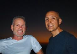 Tony and Cris at the Jesucristo summit