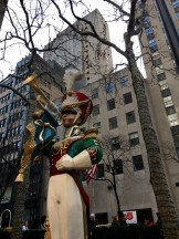 Toy soldier at Rockefeller Center