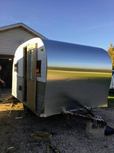 My She Shed Vintage Camper Redo Part 2