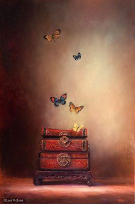 ©2014 Lori McNee Illumination 36x24 Oil on panel