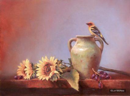 ©2011 Lori McNee Western Summer 18x24 Oil on panel