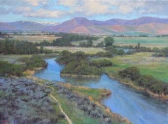 Silver Creek Early Summer LMcNee 30x40 1000px