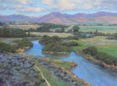 Silver Creek Early Summer LMcNee 30x40 1000px