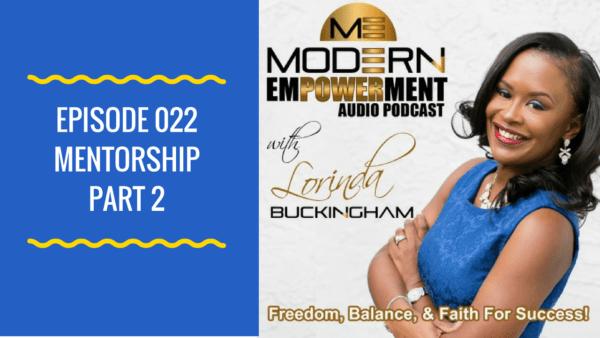 Modern Empowerment with Lorinda Buckingham