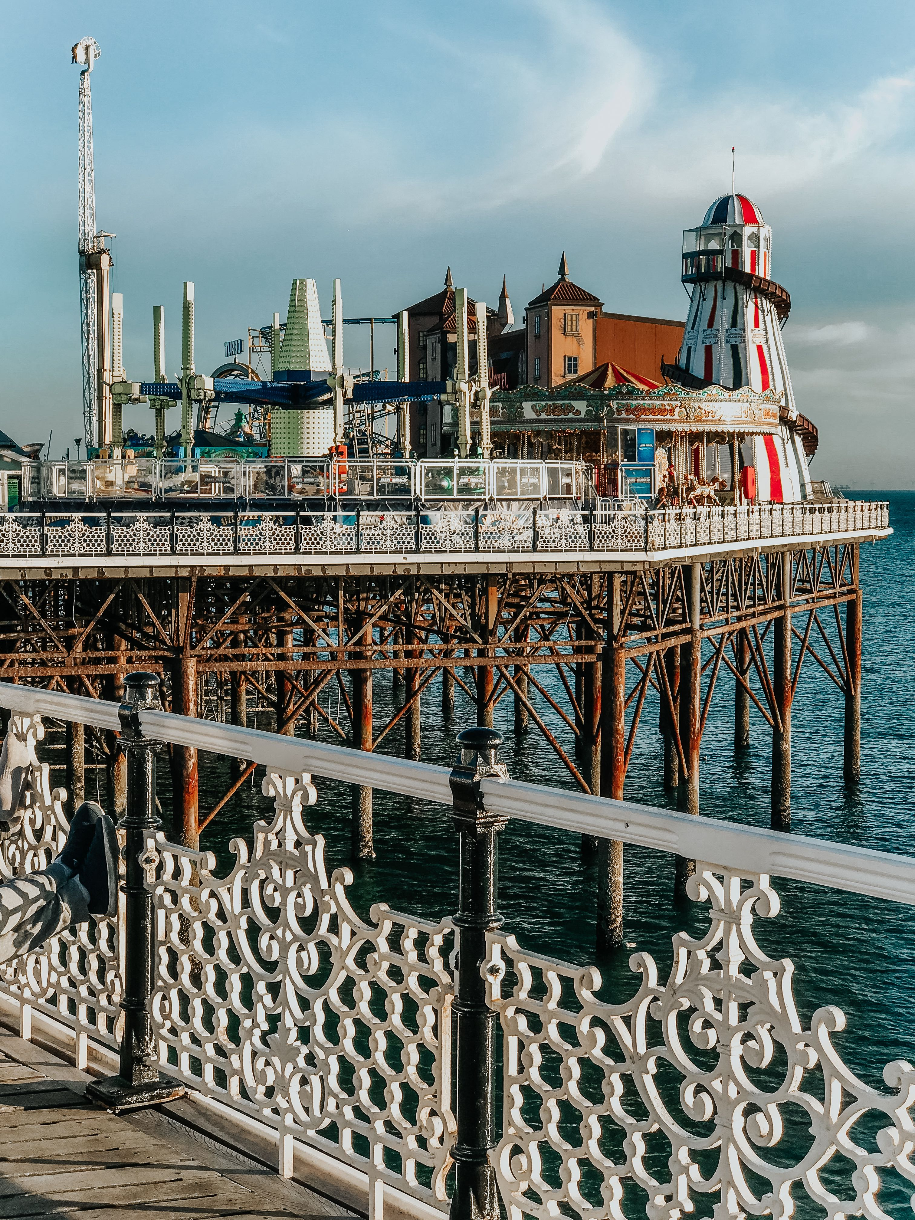 Visiting England's seaside town Brighton