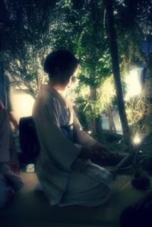 Fuyuko Kobori is a tea ceremony practitioner.