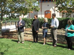 Blessing of the Grapes ceremony in Livermore Valley