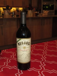 Regusci 2006 Merlot, Napa Valley, Stags Leap District