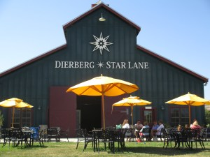 Dierberg and Star Lane share a beautiful tasting room in the Santa Rita Hills area.