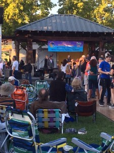 Summer concert on the Windsor Green
