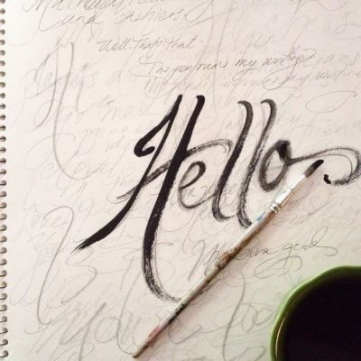 On Lettering