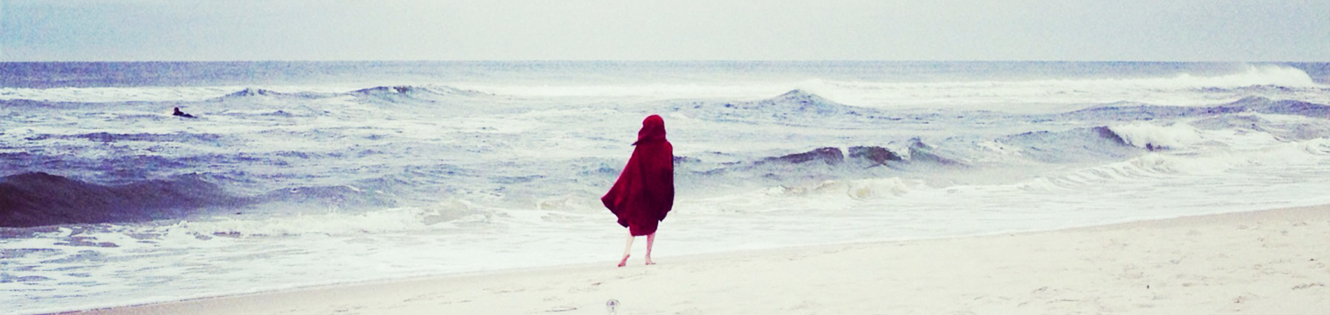 2015 July Red Riding Hood at the Beach