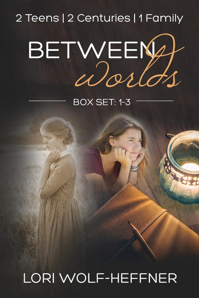 "Cover for box set for ""Between Worlds 1-3"""