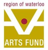 Logo of the Region of Waterloo Arts Fund