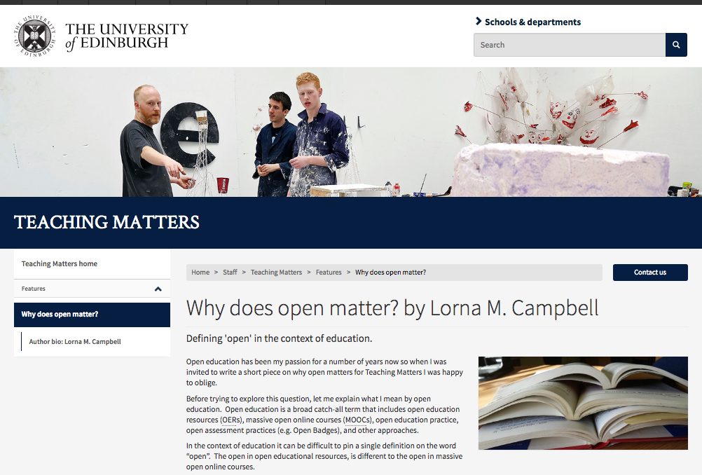 Why does open matter? | Open World