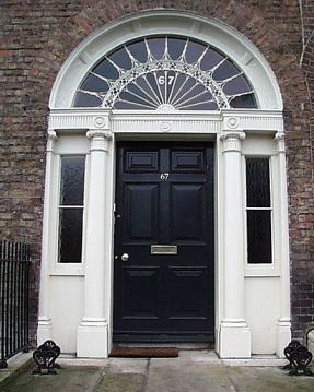 67 Merrion Square where Will was born and brought up