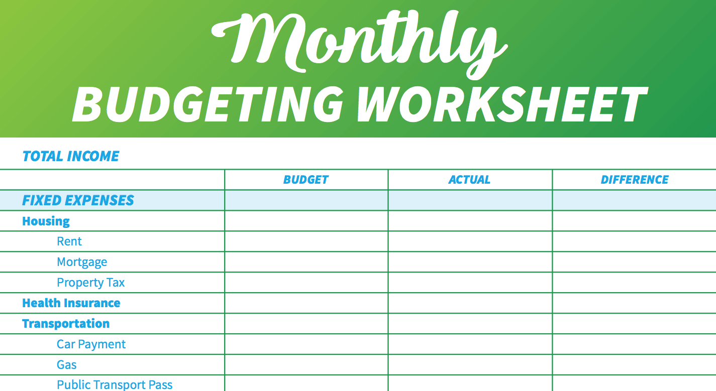 Weekly Expenses Template