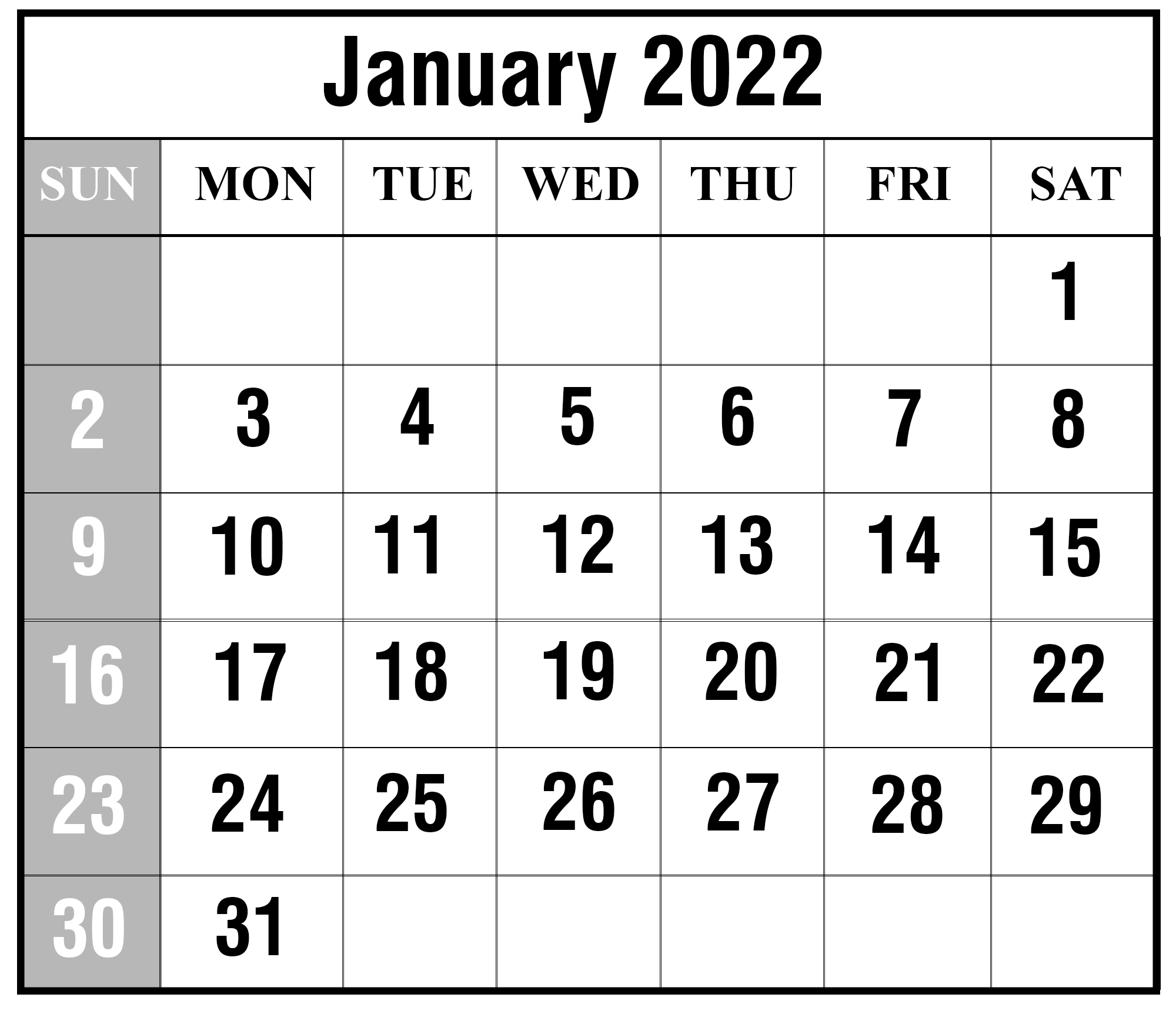 All calendars print in landscape mode (vs. 2022 Calendar Printable With Holidays Malaysia | Example ...