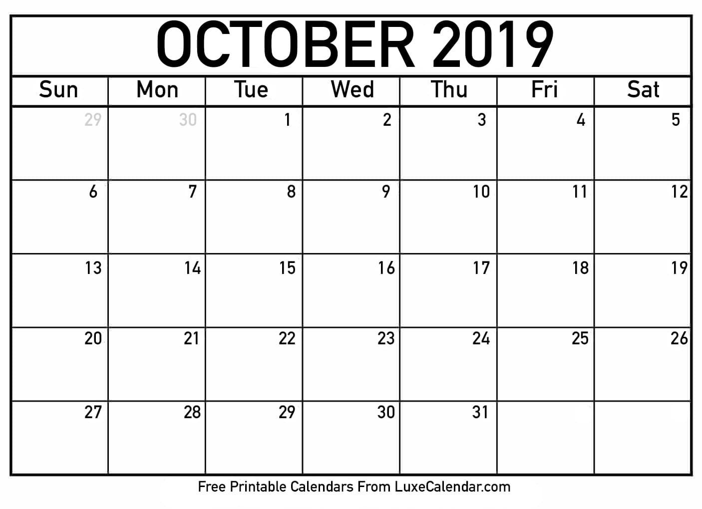 Print Free Calendars Without Downloading