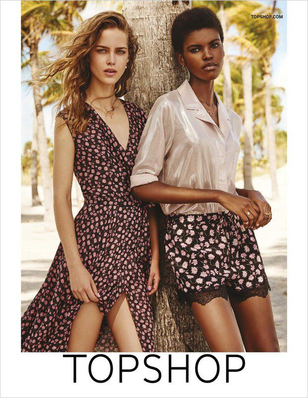Topshop SS16 ad campaign
