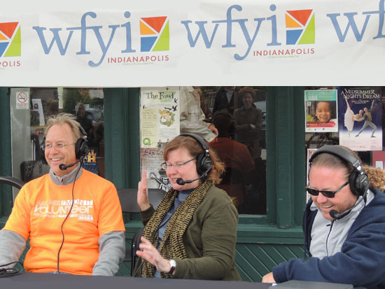 Brian joins Sharon Gamble and Travis DiNicola on the trail for a live broadcast of The Art of the Matter