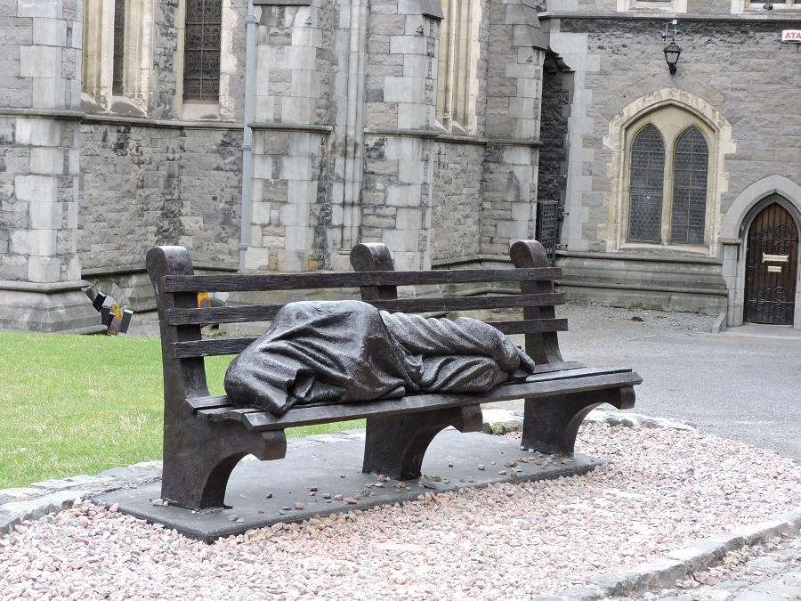 Sculpture at Christ Church