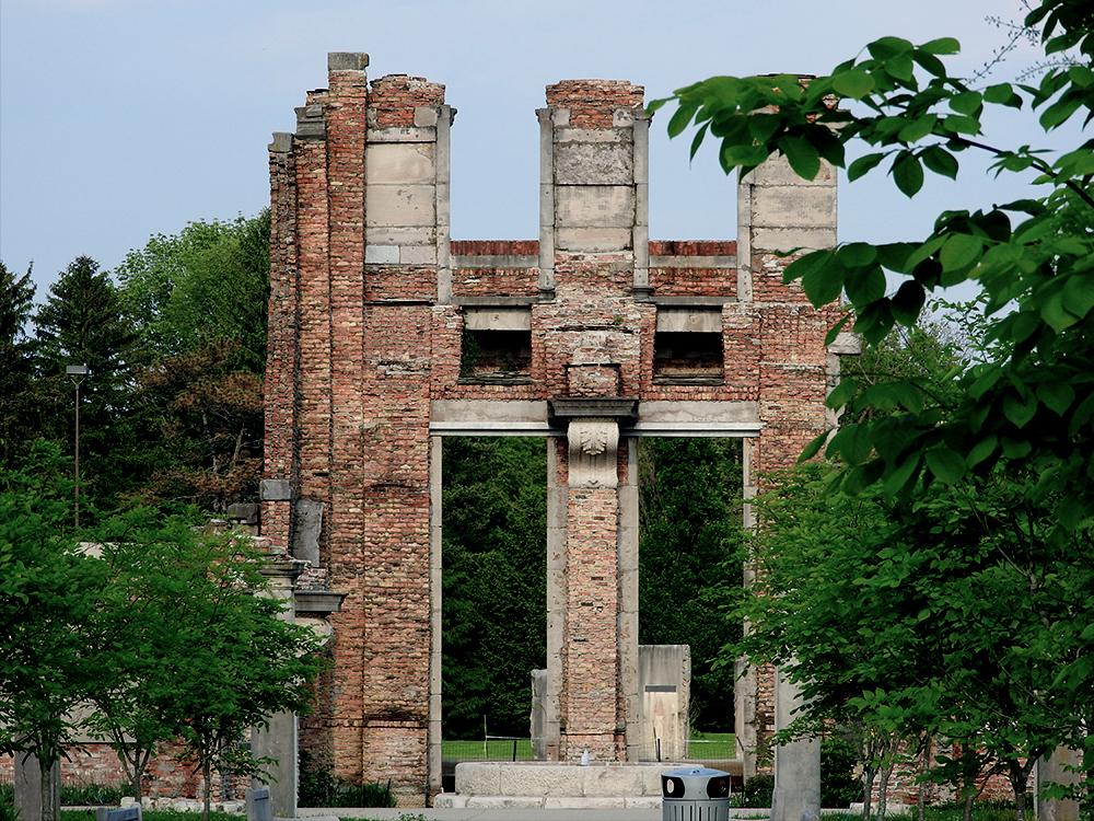 Ruins at Holiday Park