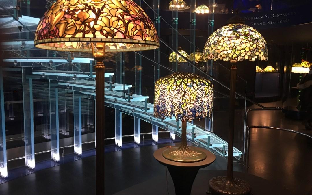 100 Tiffany Lamps