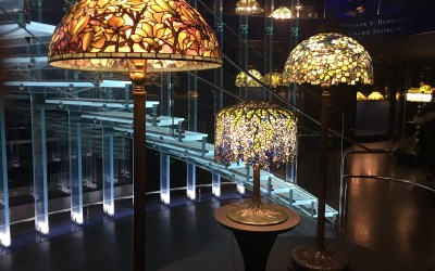 100 Tiffany Lamps