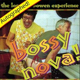 Bossy Nova CD (2000) – Autographed!