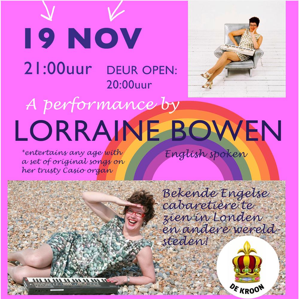 Lorraine Bowen Goes Dutch!